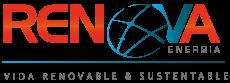 Logo de Renova Energía en el Pié de Pagina