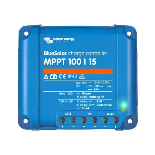 Regulador de voltaje Bluesolar 100 15