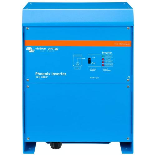 Inversor Victron Energy 12 3000 para sistemas de energía solar fotovoltaica