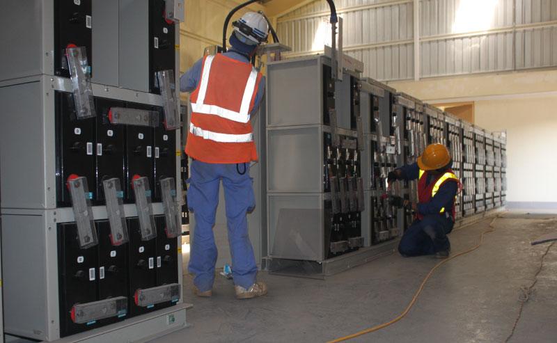 Proceso de instalación de sistema de energía fotovoltaica