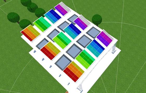 Interoconexión polimórfica de paneles solares en Colombia