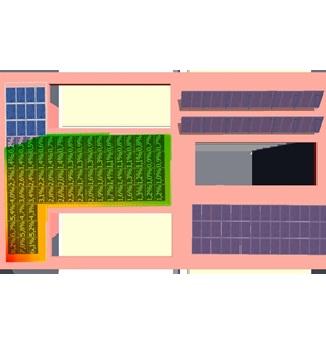 Sistema para diseñar sistemas de paneles solares