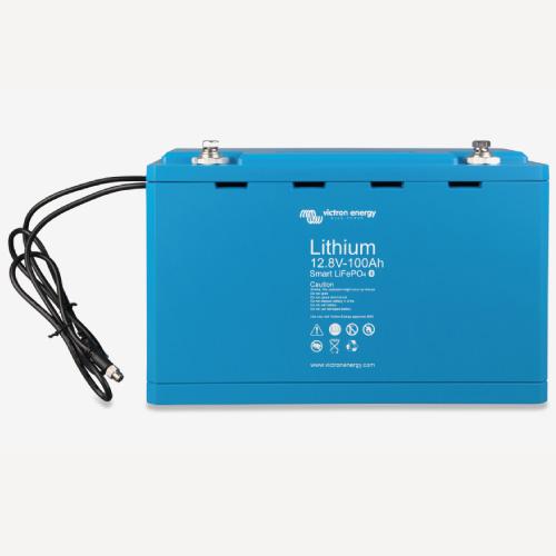 Baterías de fosfato de hierro y litio LFP Smart 12,8/100