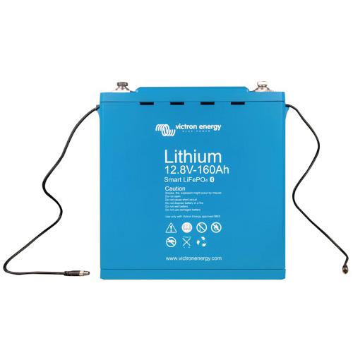 Baterías de fosfato de hierro y litio LFP Smart 12,8/160