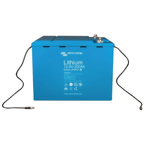 Baterías de fosfato de hierro y litio LFP Smart 12,8/200