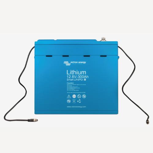 Baterías de fosfato de hierro y litio LFP Smart 12,8/300
