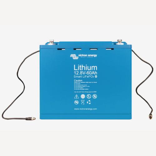 Baterías de fosfato de hierro y litio LFP Smart 12,8/60
