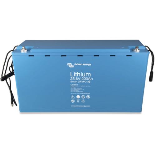 Baterías de fosfato de hierro y litio LFP Smart 25,6-200