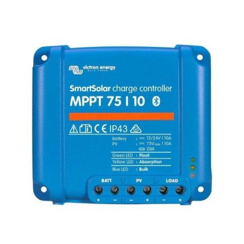 Regulador de Voltaje Victron Energy SmartSolar MPPT 75/10