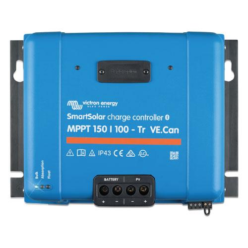 Regulador de Voltaje Victron Energy SmartSolar MPPT 150/100 con conexión de tornillo o FV MC4
