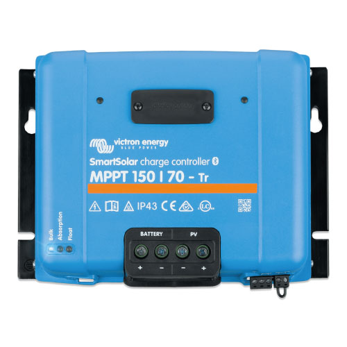 Victron Energy SmartSolar MPPT 150/70 con conexión de tornillo o FV MC4