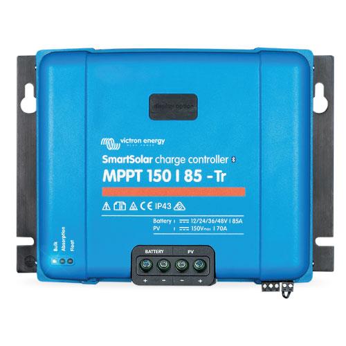 Regulador de Voltaje Victron Energy SmartSolar MPPT 150/85 con conexión de tornillo o FV MC4