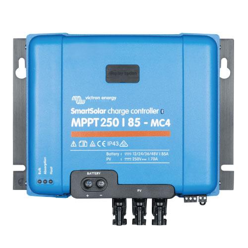 Regulador de Voltaje Victron Energy SmartSolar MPPT 250/85 con conexión de tornillo o FV MC4